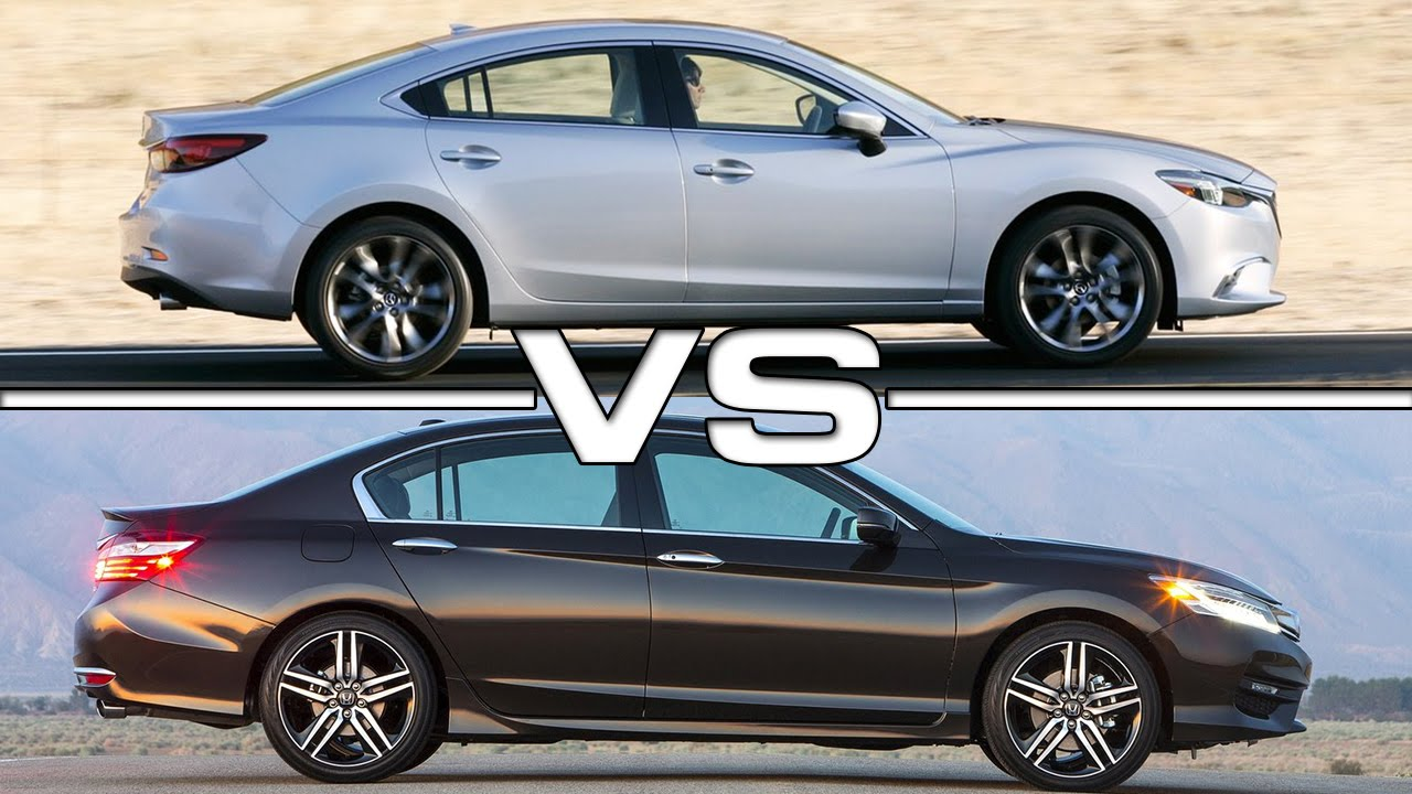 2017 Mazda 6 Vs Honda Accord