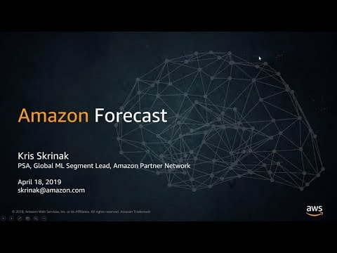 AWS Partner Webinar: Building Integrations with Amazon Forecast