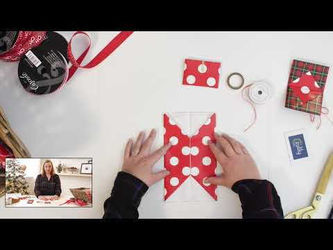 Gift Wrapping with Amy - DIY Gift Card Holder