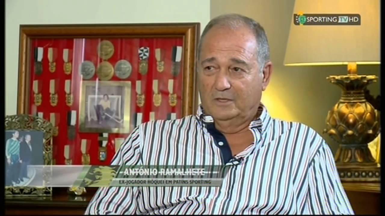 Hóquei Patins :: Ramalhete: «Sporting venceu por 11 no meu regresso à Luz» - Julho 2015