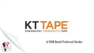 VGM Retail – Preferred Vendor: KT Tape