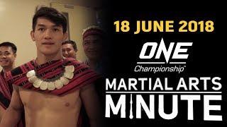 Martial Arts Minute   18 June 2018