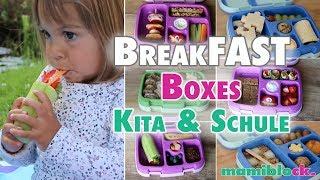 Neue Frühstücksideen für Schule und Kindergarten | Bentgo Box | Lunchbox | mamiblock