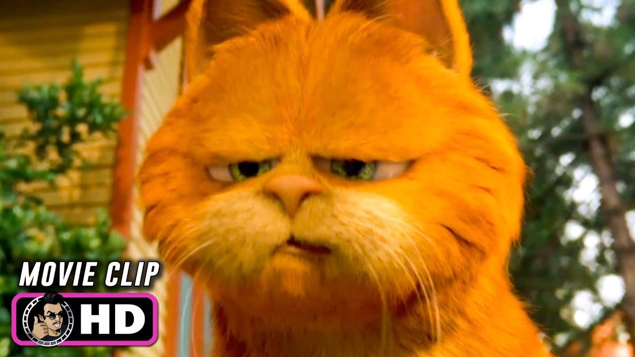 Garfield The Movie Clip Cat Mouse 2004 Bill Murray Youtube