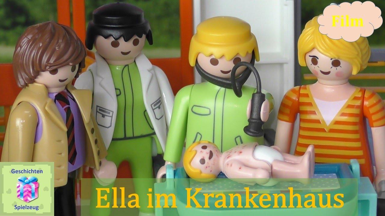 Playmobil Film Deutsch Ella Im Krankenhaus Playmobil Geschichten