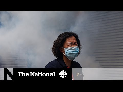 Thousands in Hong Kong protest China's national security bill