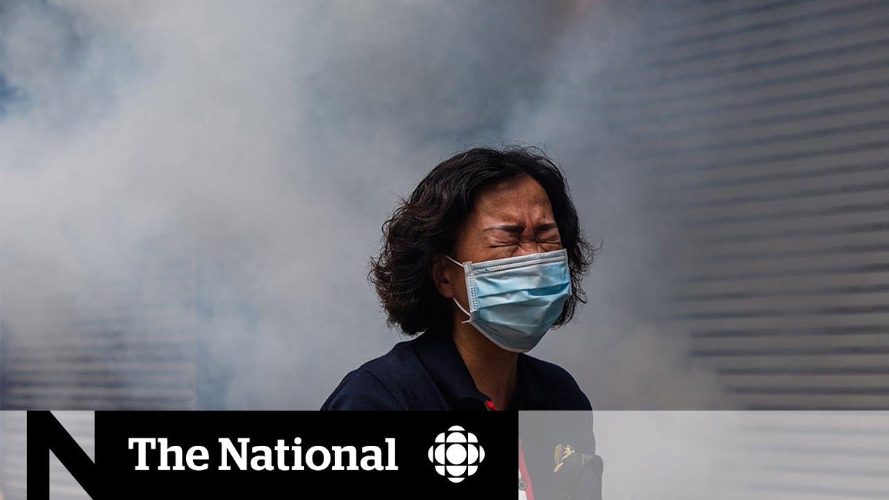 Гонконг снова захлестнули беспорядки