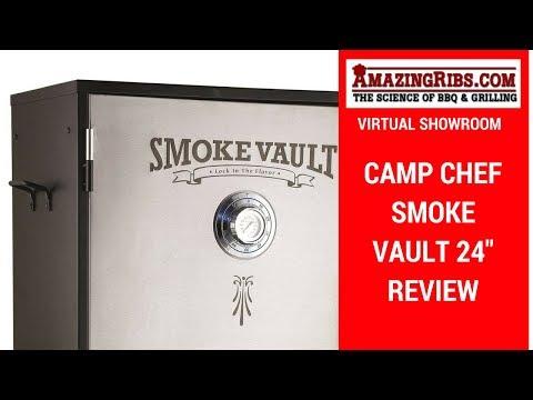 "AmazingRibs.com Virtual Showroom - Camp Chef Smoke Vault 24"""