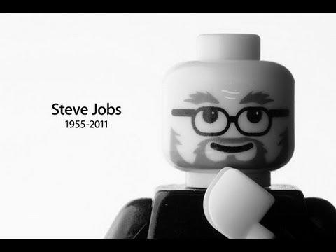 Lego Jobs Unpacking IPhone 4S (For Steve)