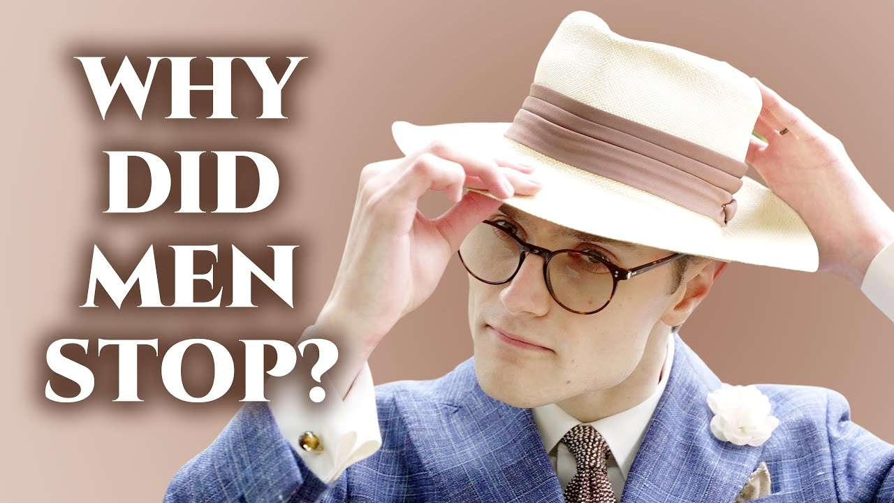 Download Why Did Men Stop Wearing Hats?