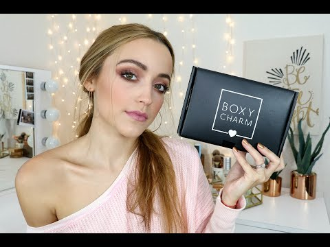 Download Youtube: September Boxycharm Unboxing | 2017 (Try On Style)