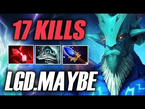 Maybe • Leshrac • 17 Kills • LGD vs TNC — TI7 Pro Gameplay Dota 2