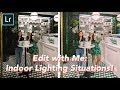 How I Edit My Instagram Pictures | Indoor Lighting Settings 💡
