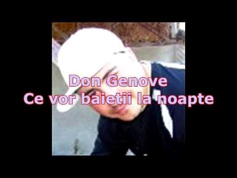 Don Genove - Ce vor baietii la noapte
