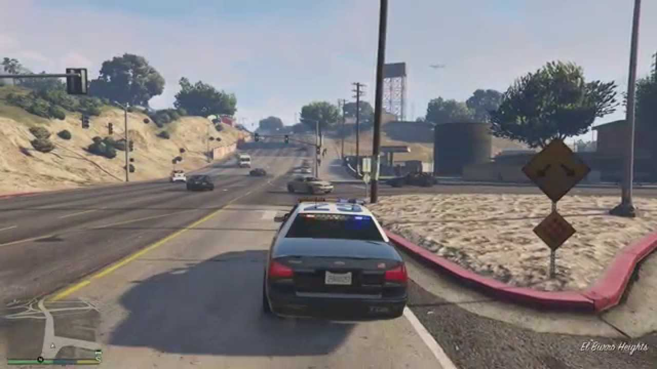 Grand Theft Auto V Playstation 4 Gameplay 1080p Hd