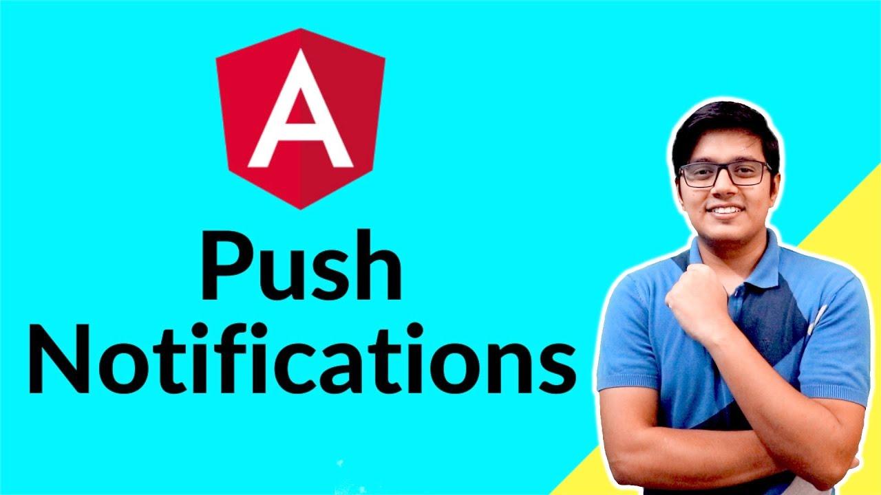 Push Notification in PWA   SwPush in Angular & Web-Push