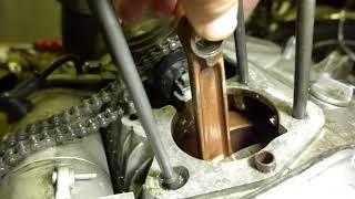 CP77 エンジン焼き付き