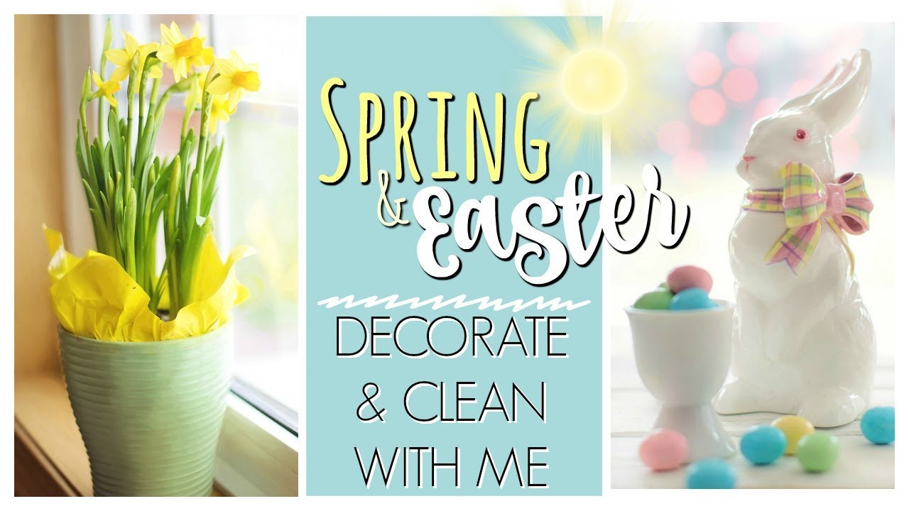 easter decorating ideas to beautify your easter #springcleaning #cleanwithme #cleaningmotivation
