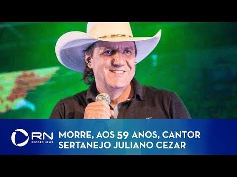 Cantor sertanejo Juliano Cezar tem morte súbita durante show