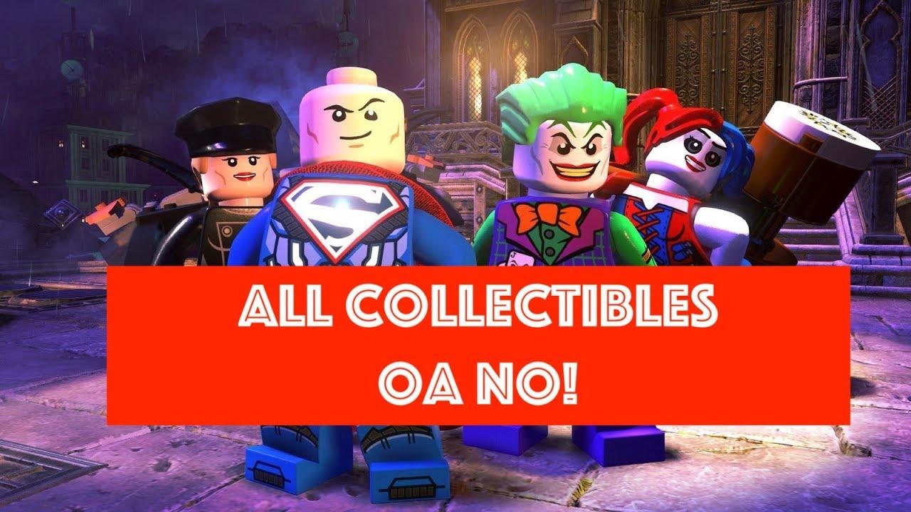 lego dc super villains oa no free play 100 all minikits and rh youtube com