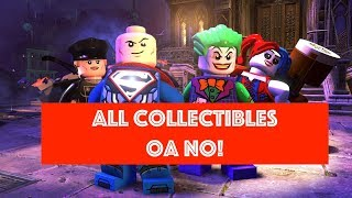 Lego DC Super Villains Oa NO!  Free Play 100% all Minikits and Collectibles