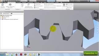 Проектирование шестерни цилиндрического зубчатого колеса в Autodesk inventor(видео специально для сайта http://vsesobe.ru Как построить зубчатое колесо с правильным эвольвентным профилем..., 2016-11-29T14:44:28.000Z)