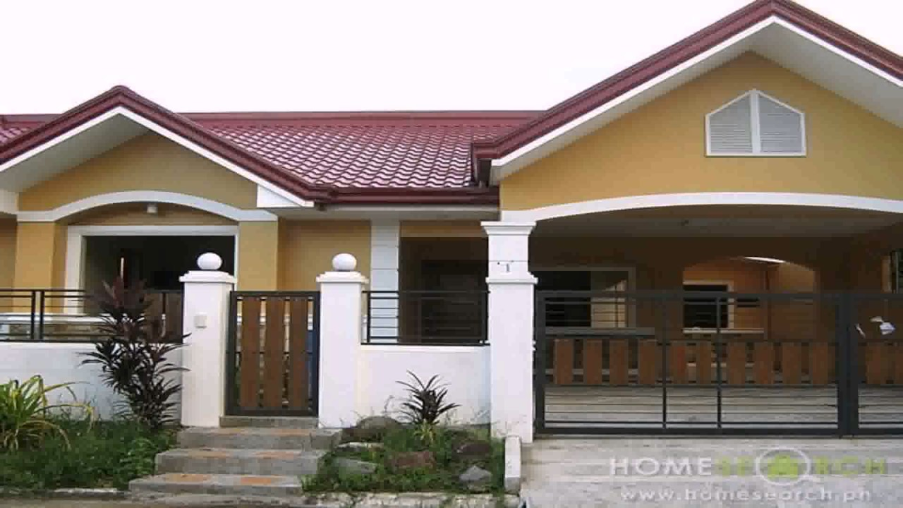 Different house styles in the philippines youtube for Different building styles