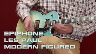 Epiphone Les Paul Modern FIgured Demo by RobRoy Menzies