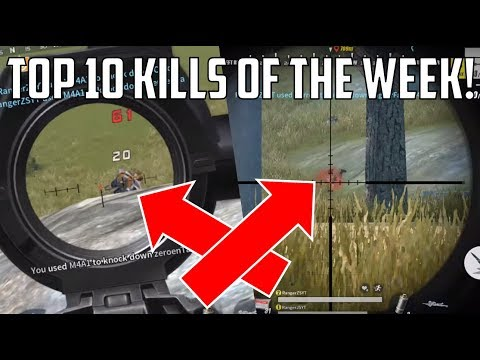 Top 10 KILLS of The Week | Rules of Survival SEND YOUR CLIPS NOW! BEST KILLS EVER