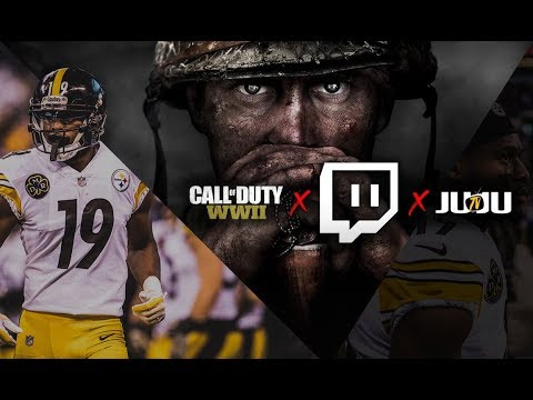 wholesale dealer ad114 f3667 JuJu Smith-Schuster Best COD Player in the NFL?!? First Twitch Stream