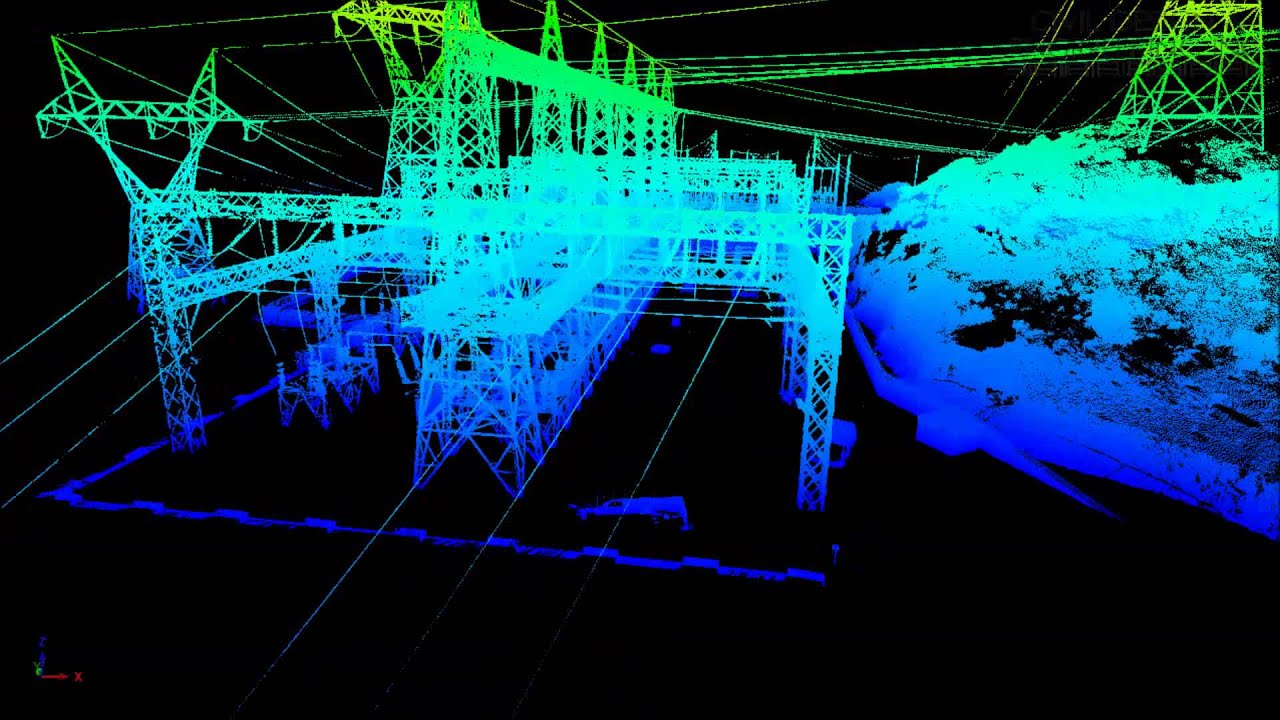 Phoenix Wallpaper Hd 3d Terrestrial Lidar Substation Scan Youtube