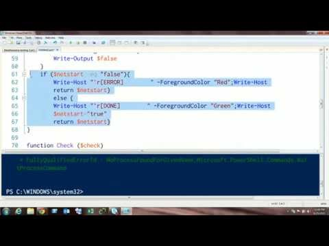 Lets Play Powershell: Reddit script review