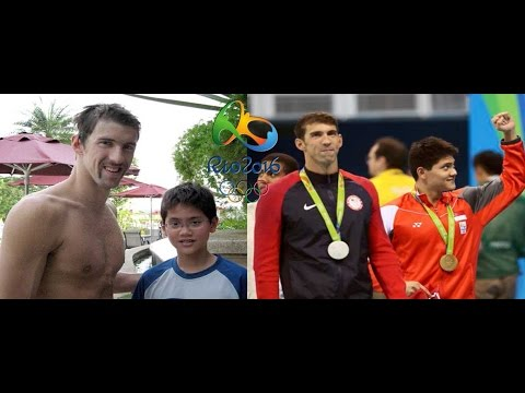 Joseph Schooling of singapore Wins First Gold Defeat Michel Phelps, 100m butterfly Rio Olympics