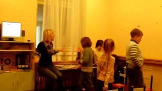 Фрагмент урока 1 ступени I CAN SPEAK (дети 5-6 лет)