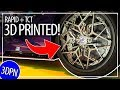 3D Printing SUPER CAR WHEELS in METAL? More Cool 3D Prints from RAPID + TCT 2019!