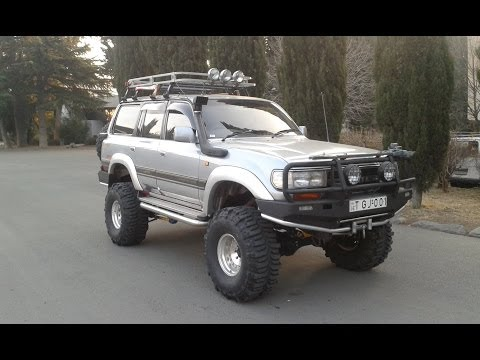 Toyota Land Cruiser 80 Off-Road Car Tbilisi