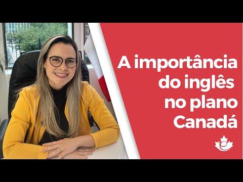A IMPORTÂNCIA DO INGLÊS NO PLANO CANADÁ!