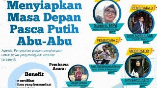 Download lagu Webinar Menyiapkan Masa Depan Pasca Putih Abu-Abu - SMAN 4 Banjarbaru