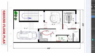 20x40 small house plan