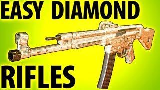 HOW TO GET EASY DIAMOND CAMO RIFLES COD WW2 TIPS