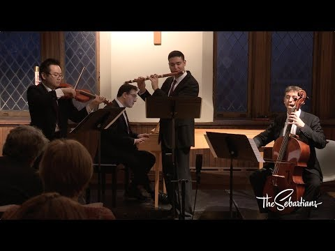 Bach - Trio Sonata from the Musical Offering - the Sebastians