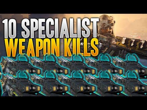 DAILY - 10 Specialist Weapon Kills