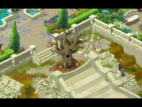 Gardenscapes New Acres Gameplay Story Playthrough Area 6 Day 1 New Waterfall Area Youtube