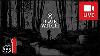 """[Archiwum] Live - BLAIR WITCH (1) - [1/2] - """"Zagubiony chłopiec i Ellis"""""""