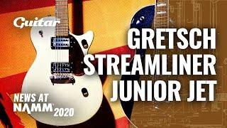The Gretsch Streamliner Junior Jet is a stripped-back rock machine #NAMM2020