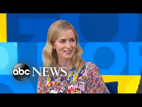 Emily Blunt 'blown away' by husband in director role