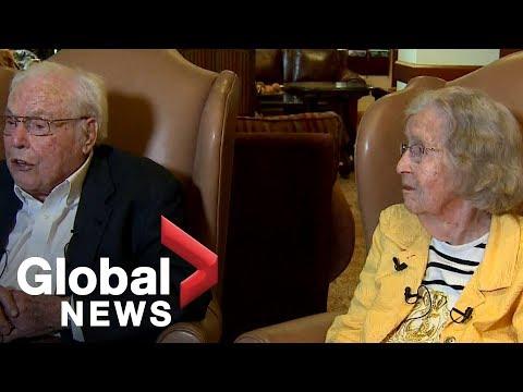 World's longest living couple celebrates 80th anniversary