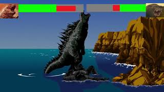 godzilla vs king kong with healthbars (3/3)