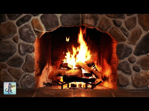 12 HOURS Of Relaxing Fireplace Sounds 🔥 Cozy Crackling Fire 🔥 Burning Fireplace (NO MUSIC)