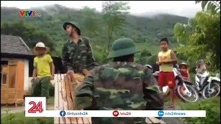 Nghệ An di dời dân bị ngập lụt | VTV24